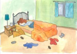 Almohada y Desorden - Libro Crecer en Salud